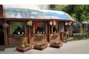 Летняя веранда ресторана